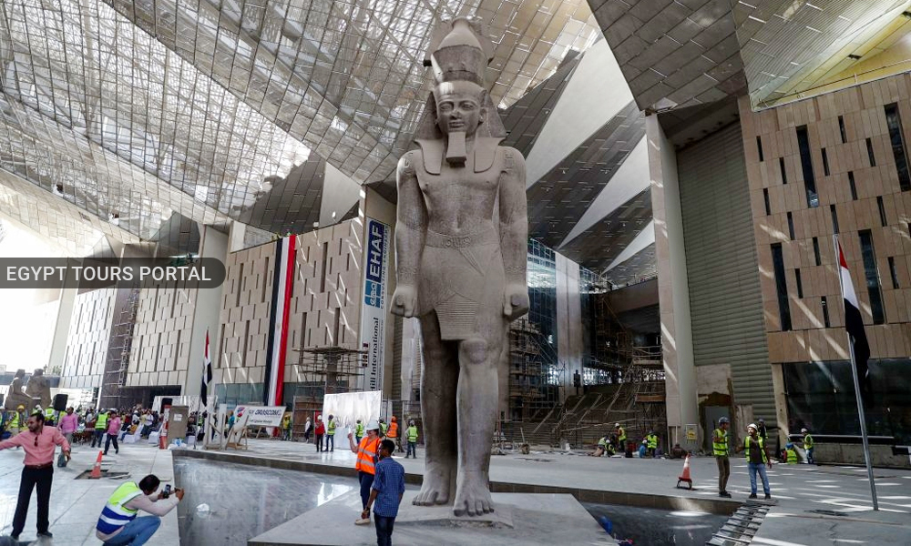The Grand Egyptian Museum 2021 - Safety in Egypt 2020 - Egypt Tours Portal