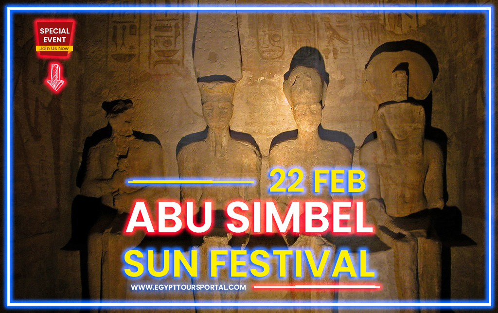 Abu Simbel Sun Festival 22 February - Egypt Tours Portal