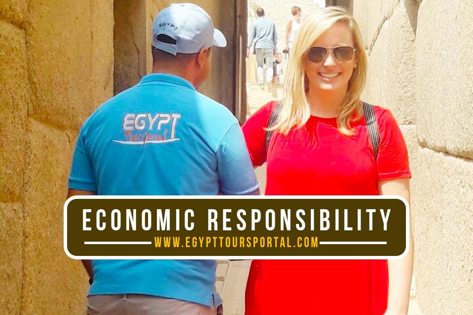 Economic Responsibility Egypt Tours Portal